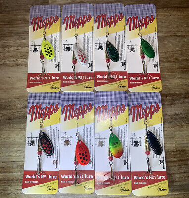 8 X Mepps Spinning Spinner Lures For Trout Salmon Pike Sewin Bass Fishing New X. • 9.95£