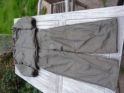 Wychwood Men's 2 Piece Fishing Suit Jacket & Bib & Brace Green • 11.50£