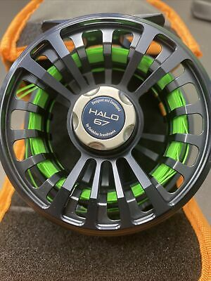 Guideline Halo 67 Fly Fishing Reel With Case • 100£