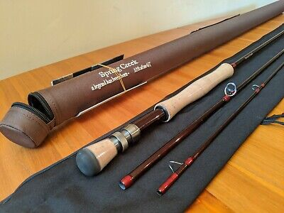 Brand New Spring Creek 10ft AFTM 6/7 Fishing Rod, 3 Piece Rod In Case • 11.90£