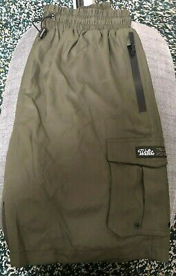 Wofte Tech Cargo Shorts ,Olive Fishing Shorts/Trousers Size L  • 14.50£