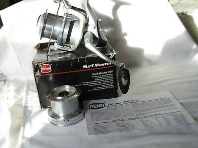 Penn Surf Master 850 Reel With A Spare Spool Boxed Excellent  • 94£