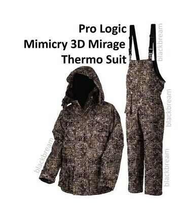 Pro Logic Mimicry 3d Mirage Thermo Shield Camo Suit 2pc Fishing Shooting Hunting • 89.95£