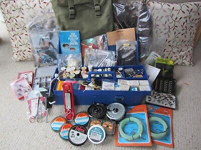 Collection Of Vintage Fly Fishing Tackle • 20.22£