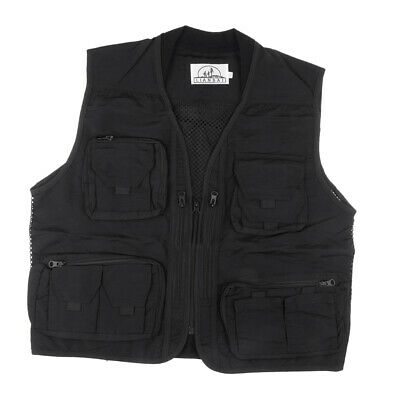 Multi-pocket Mesh Photography Fishing Vest Causal Outdoor Sports Vest • 16.49£