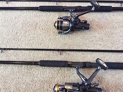 Matching Pair Of 11 Foot Dam Carp Rods And Reels • 50£