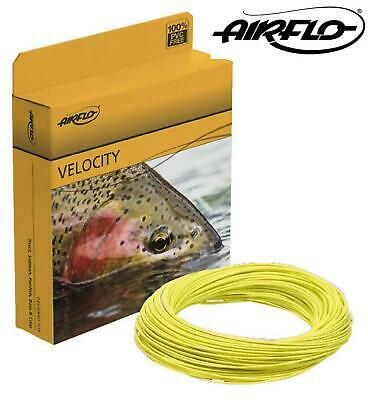 Airflo Velocity Floating Fly Line Weight Forward AFTM# 4-9 Double Taper AFTM#4-8 • 18.99£