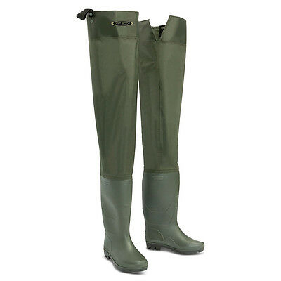 Dirt Boot® Nylon Thigh Hip Waders 100% Waterproof Fly Coarse Fishing Muck Wader • 24.99£