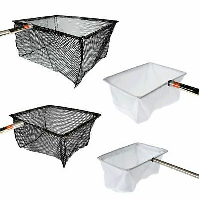 Pisces Fish Catch Nets With Handle Pond Fishing Catching Landing Clean Koi  • 23.99£