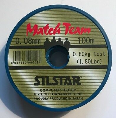 SILSTAR MATCH TEAM LINE (all Sizes Available) • 4.69£