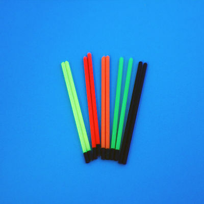 SMALL BORE HOLLOW  POLE  FLOAT TIPS 1.2mm TO 3.0mm (25s 20s 50s) • 5£