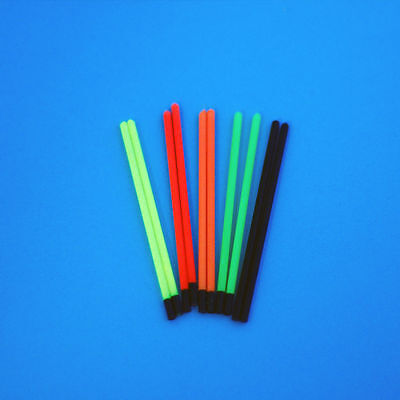 SMALL BORE HOLLOW  POLE  FLOAT TIPS 1.2mm TO 3.0mm  POLE FLOAT MAKING MATERIALS • 6.25£