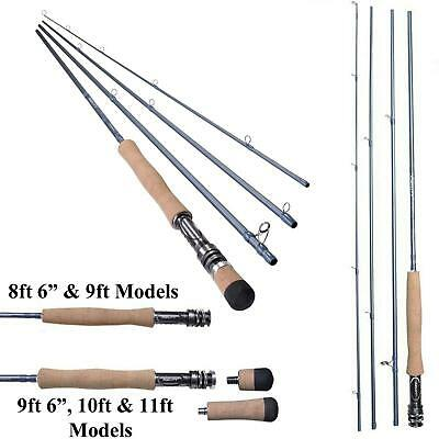New Shakespeare Agility 2 *4 Pce Travel Fly Rod*With Cordura Tube*Trout Salmon • 66.98£