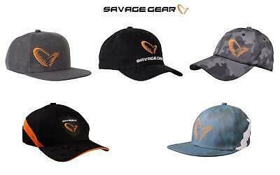 Savage Gear Baseball Caps/Hats*5 Types*Fishing Pike Perch Zander Predator • 14.99£