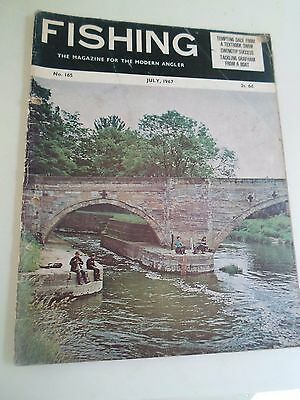 Vintage JULY 1967  FISHING The Magazine For The Modern Angler + Advertising • 9.99£