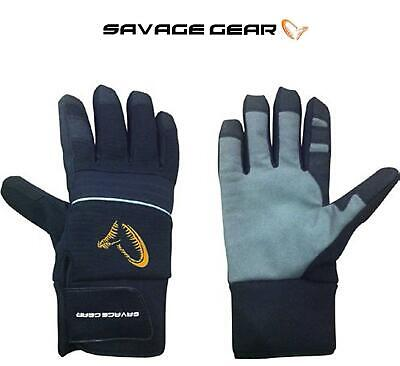 Savage Gear Winter Thermo Gloves**All Sizes**Pike Perch Predator Warm Thermal  • 19.98£