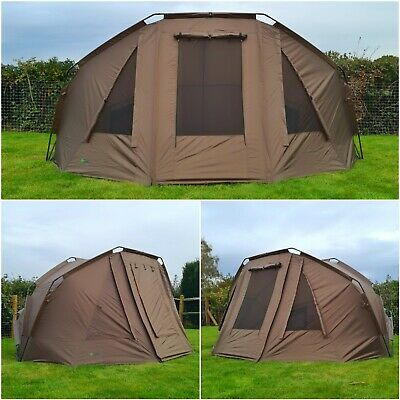 Quest Compact MK6 Carp Fishing Bivvy 1-2 Man Overnight Shelter Tackle Brolly  • 159.99£