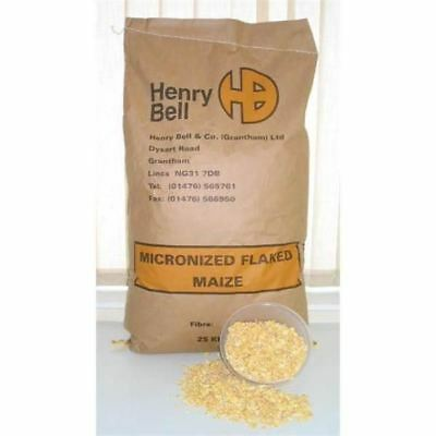 Henry Bell & Co Micronized Flaked Maize 20kg Fishing Bait Bulk Ingredients • 15.17£
