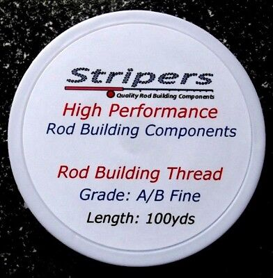 Rod Building And Repair Thread. Grade A/B-Fine. Available In 4 Colours. • 3.49£
