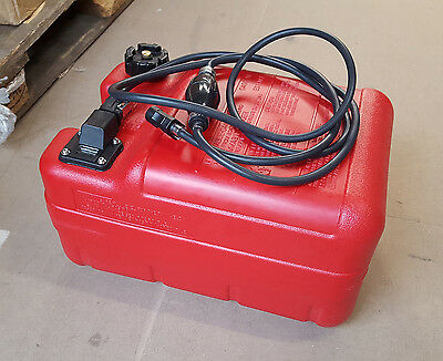 99001 24 Litre Outboard Fuel Tank With Gauge And 3m Fuel Line New Generic • 55.95£