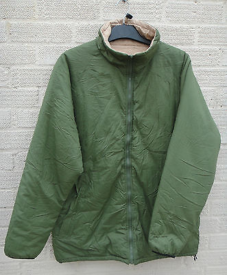 British Army Jacket Thermal Reversible Genuine Warm Stuff Sack Soft USED Olive  • 24.99£