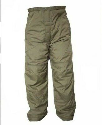British Army Thermal Trousers PCS Stuff Sack MTP Warm Carp Fishing Olive NWOT • 21.99£