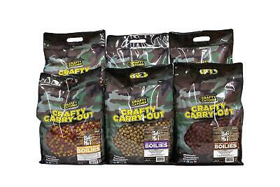 Crafty Catcher Big Hit 15-20mm Boilies 5kg Bag All Flavours Available • 26.49£