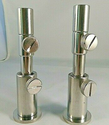 MOD STAINLESS STEEL CARP FISHING ADJUSTABLE 13mm & 16mm STAGE STANDS & INSERTS  • 10.49£