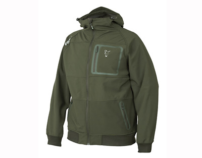 Fox Collection Green & Silver Soft Shell Hoody • 59.99£