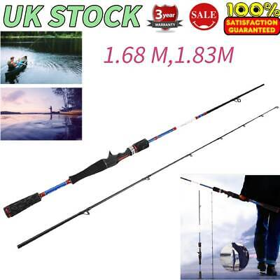 Outdoor Carbon Star Straight Shank 1.68M 1.83M Fishing Rod Fishing Accessory UK • 37.01£