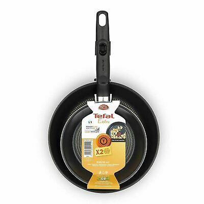 Tefal Extra Twin Non-Stick Frying Pan Set   Two Piece Fry Pan Pack (20cm & 26cm) • 21.95£