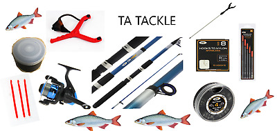 Telescopic Travel/starter Kit ,8 Ft Rod & Reel Complete Set For Coarse Fishing  • 25.95£