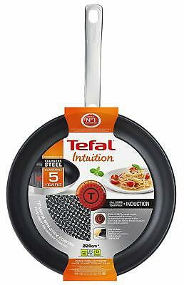 Tefal Intuition Stainless Steel Induction Frying Pan / Non Stick 28cm Fry Pan • 31.95£