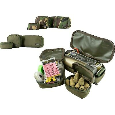Speero Tackle Pouches Kit 3 X Carp Fishing DPM Green Bank Kit Military Spec Zip • 14.95£