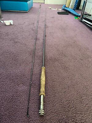 2 X Diawa Fishing Rods, Reels, Line, Waders, Net And Flys, Waistcoat & Gloves • 275£