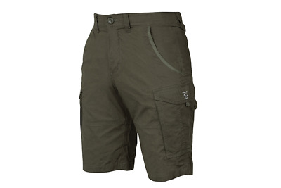 Fox Green & Silver Combat Shorts New All Sizes • 24.99£