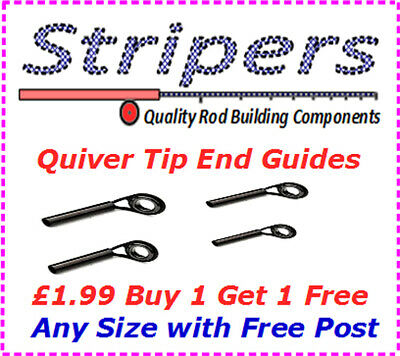 Rod Building Quiver Tip End Guides Rings. NOW £1.99 Buy 1 Get 1 FREE • 1.99£