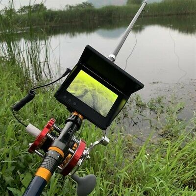 4.3  Visual Fish Finder Underwater IR Night Vision HD Camera Monitor Detector OL • 134£