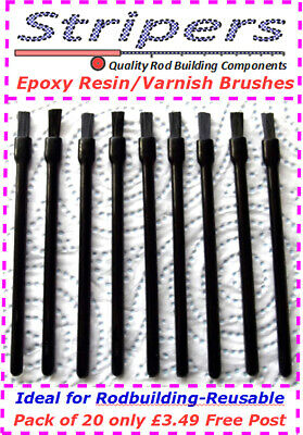 Rod Building And Repair Top Quality Brushes With Nylon Bristles . Free P&P • 3.49£
