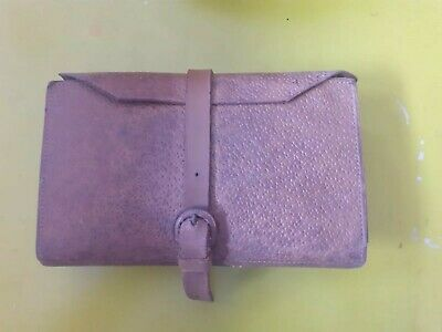 Vintage Leather Fly Wallet And Contents  • 5.51£