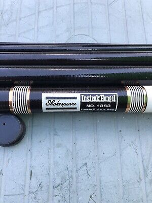 Vintage Shakespeare Insteek Hengel Fishing Rod No. 1363 -5.4mtr. Fishing Tackle • 15£