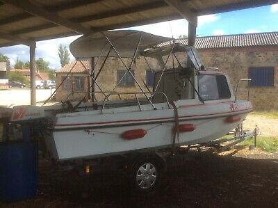 Used Fishing Boat And Trailer • 4,500£