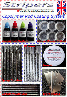 Rod Building & Repair  Elite Copolymer Thread Coating System MK2 Kit  NOW £16.99 • 16.99£