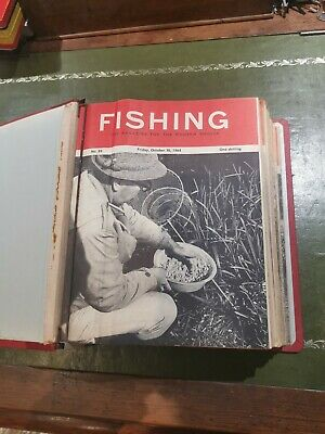 Superb COLLECTION OF VINTAGE FISHING MAGAZINES • 20£