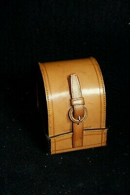 Original Vintage Hardy D Block Fly Reel Leather Case.(Perfect ?) • 150£