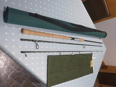 Hardy Demon Spinning Rod, 10 Feet 3 Piece C/w Bag & Tube • 150£
