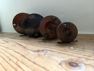 Selection Of Collectible Vintage Fishing Reels X 4 • 10£