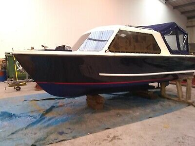 Electric Day Boat,sovereign/ Salters  17ft . New Motor , Controller , Wiring Etc • 12,995£