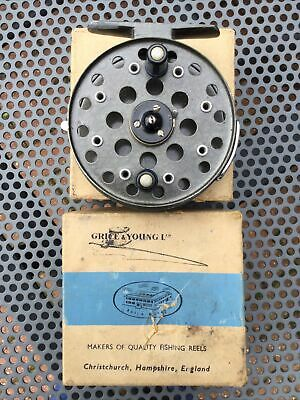 "A Grice And Young ""royal Avon""  Centrepin Reel, Boxed. • 69.99£"