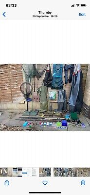Coarse & Game Fishing Complete Job Lot Set Up • 250£
